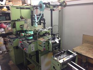平圧式シール印刷機